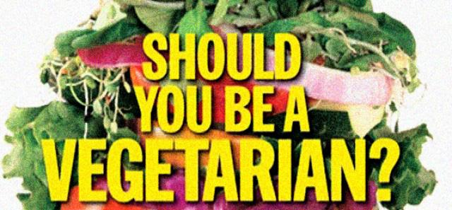 Vegetarianism gives you something to Chew on
